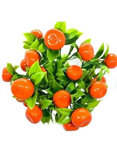 Çiçek Antalya Çiçek Antalya Yapay Mini Portakal Ağacı Yeşil
